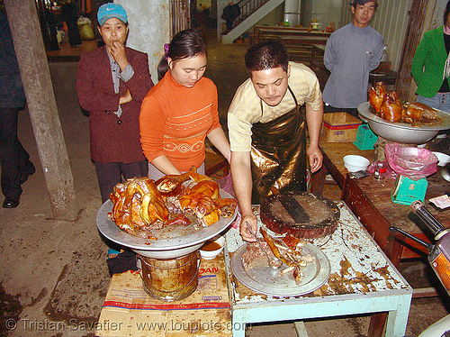 cooked dog shop, butcher, carcass, cooked dog, dog meat, dogs, food dog, lang sơn, meat market, raw meat, street market