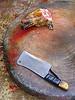 dog head - severed, butcher knife, carcass, cleaver, cut, dead dog, dog head, dog meat, food dog, qatsi3, qatsitrilogy, raw meat, severed head