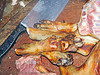 dog meat - paws - thịt chó - vietnam, butcher knife, carcass, cleaver, dead dog, dog meat, dog paws, food dog, raw meat