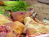 dog head - dog meat shop, butcher, cao bang, cao bằng, carcass, dead dog, dog head, dog meat, dogs, food dog, meat market, raw meat